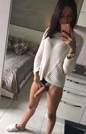 Tranny girl en manque de câlins
