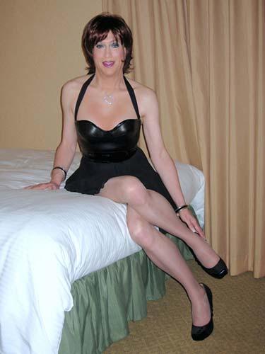 Sexy ebony woman