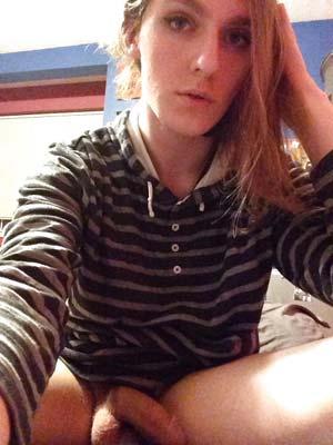 Prête à tout sur Niort, trans rousse de 25 ans